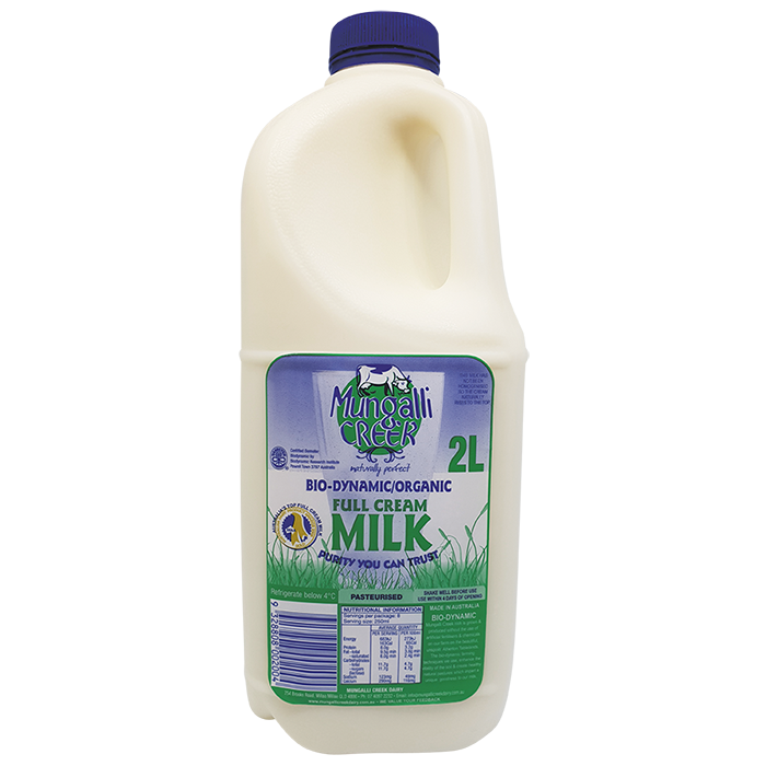Mungalli Biodynamic full cream milk